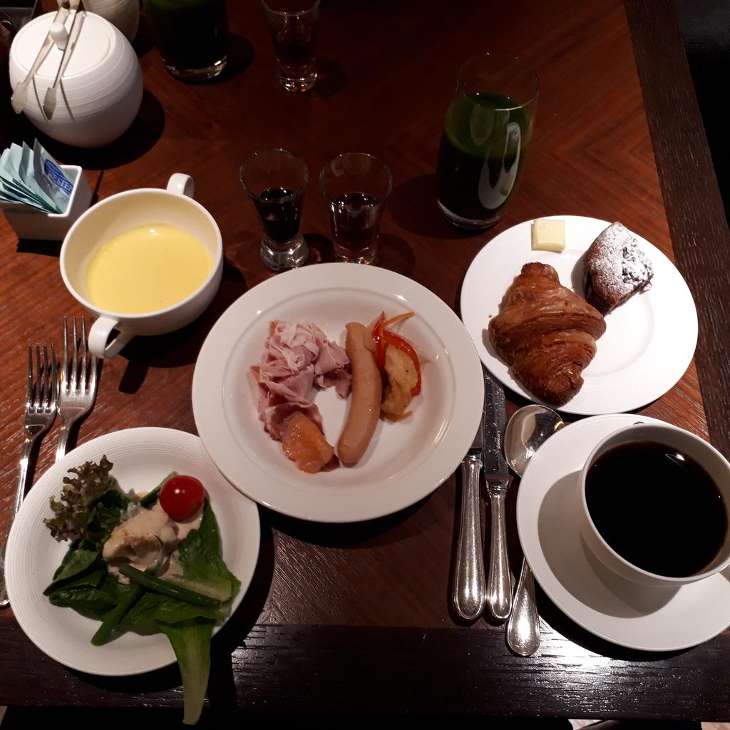 リッツカールトン京都 ラ・ロカンタ 朝食