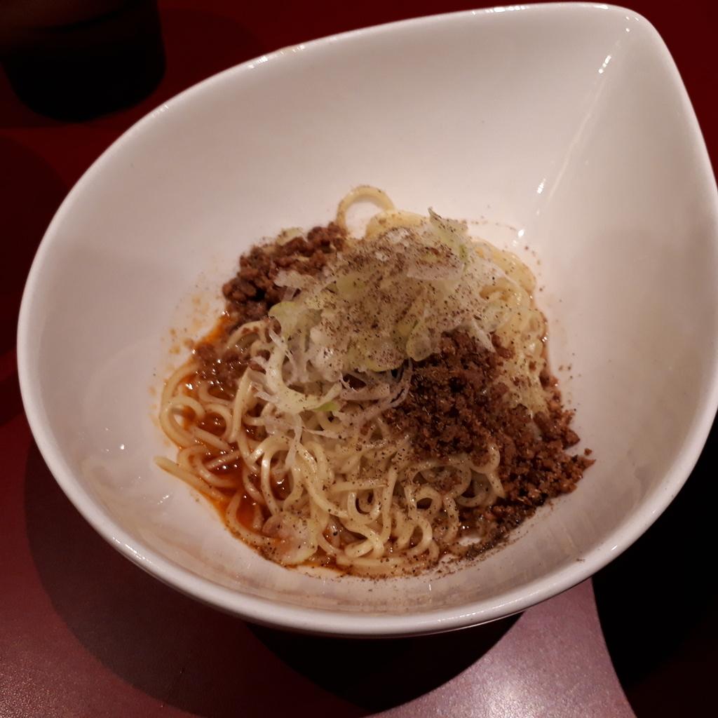 くにまつ+武蔵坊 汁なし坦坦麺 くにまつハーフ