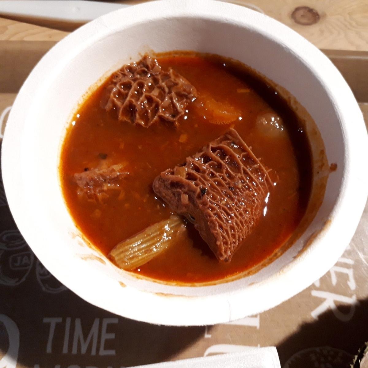 まるた食堂 トリッパのオリエンタルスパイスシチュー