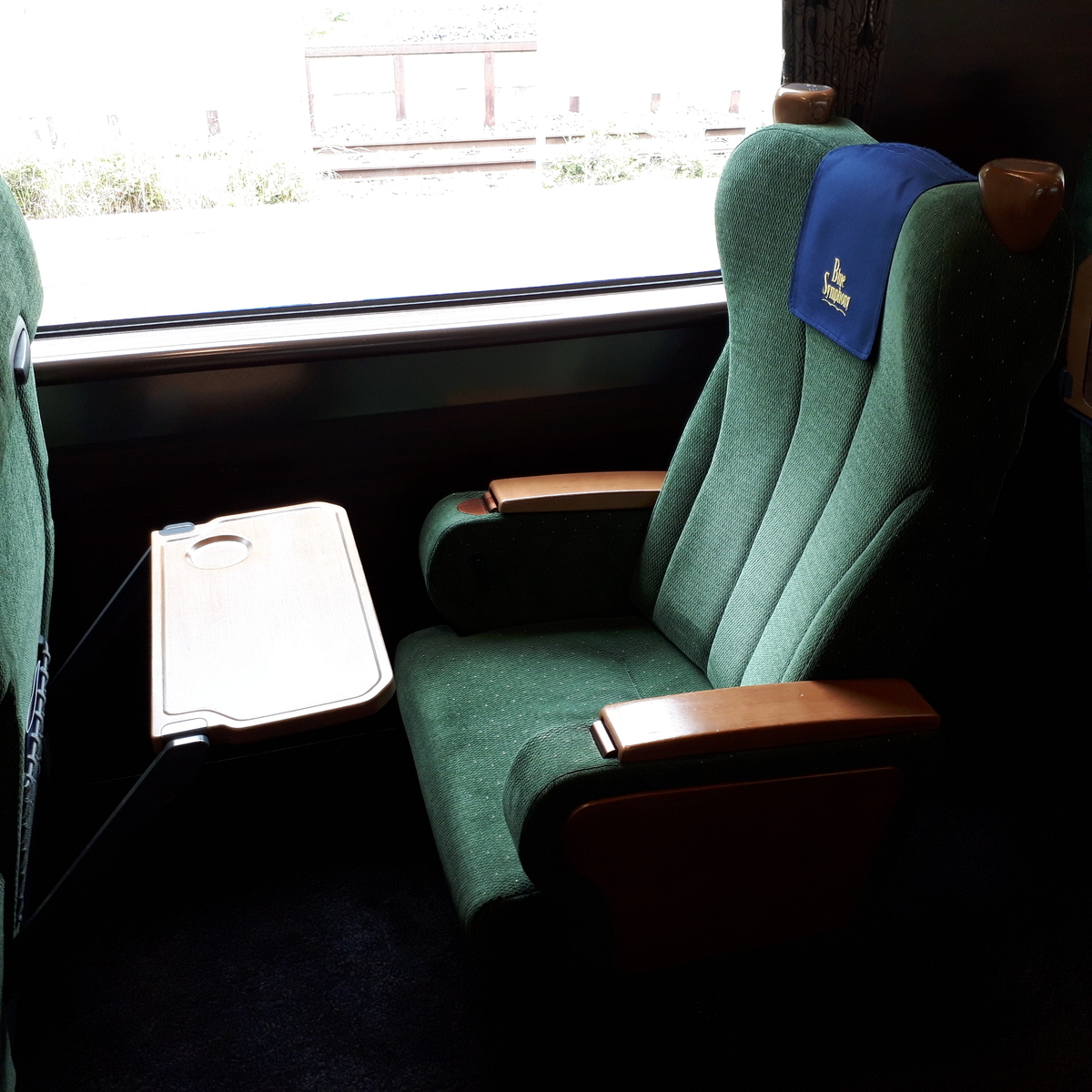 近鉄 青の交響曲 1号車 3号車 座席