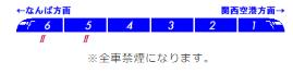 南海 空港特急 ラピート 編成表