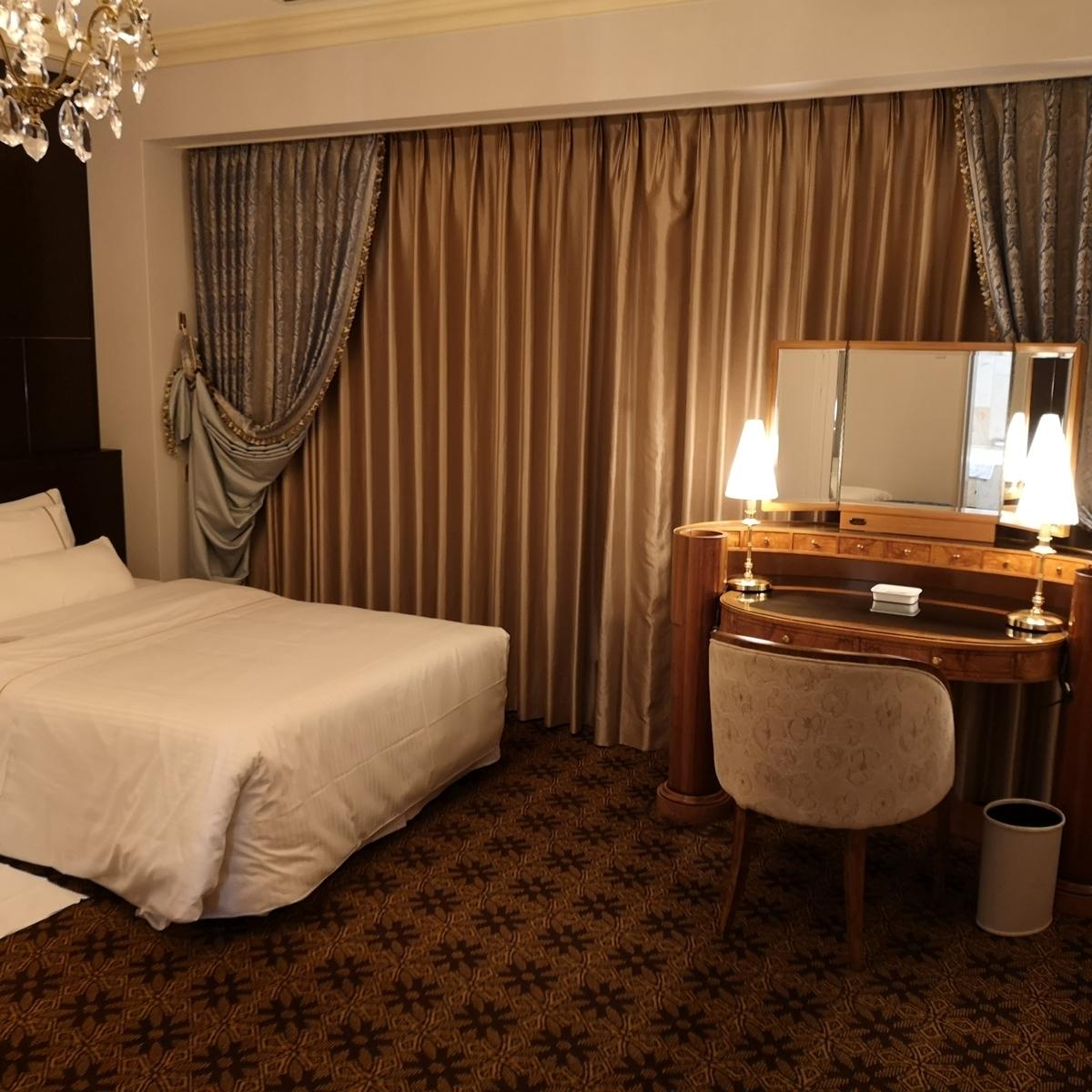 ウェスティンホテル大阪 エグゼクティブスイート ベッドルーム